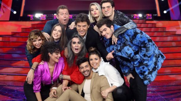 """Concursantes de la octava edición del programa """"Tu cara me suena"""""""