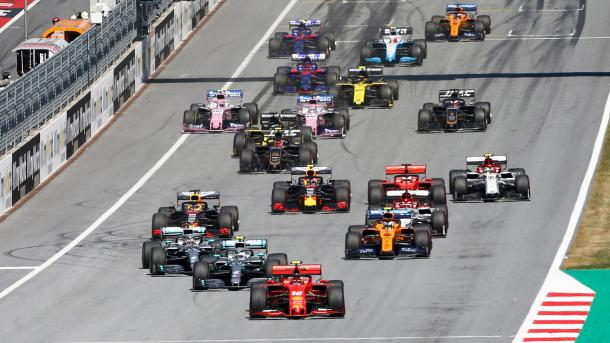 Circuito de Austria.         Vía:F1