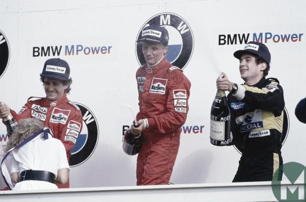 Foto (1985): Motor Sport Magazine Website
