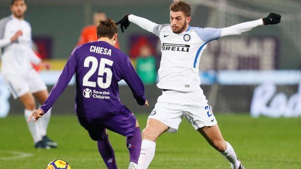 Acción del último partido de Serie A entre Inter y Fiorentina   Foto: Inter