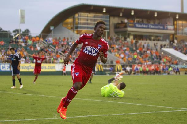 Fabian Castillo's pace and footwork will cause the Vancouver Whitecaps FC major headaches on Saturday. Photo provided by USA TODAY Sports.