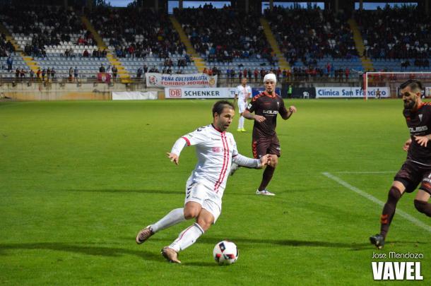 Antonio Martinez en el partido de Copa   Foto: Jose Mendoza