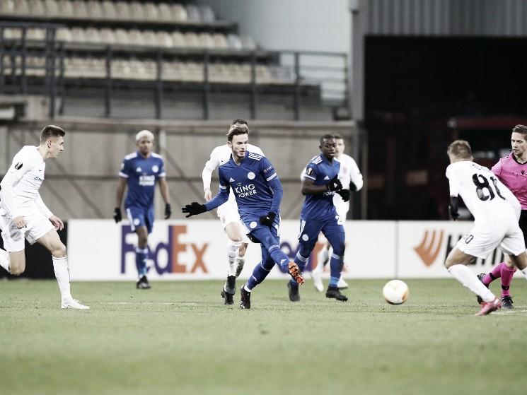 Los 'Foxes' pudieron conseguir los tres puntos | Foto: Leicester City