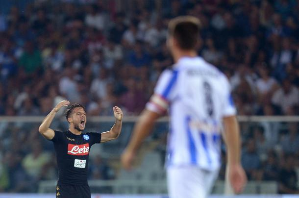 Mertens scored twice from the bench on matchday one | Photo: FILIPPO MONTEFORTE/AFP/Getty Images