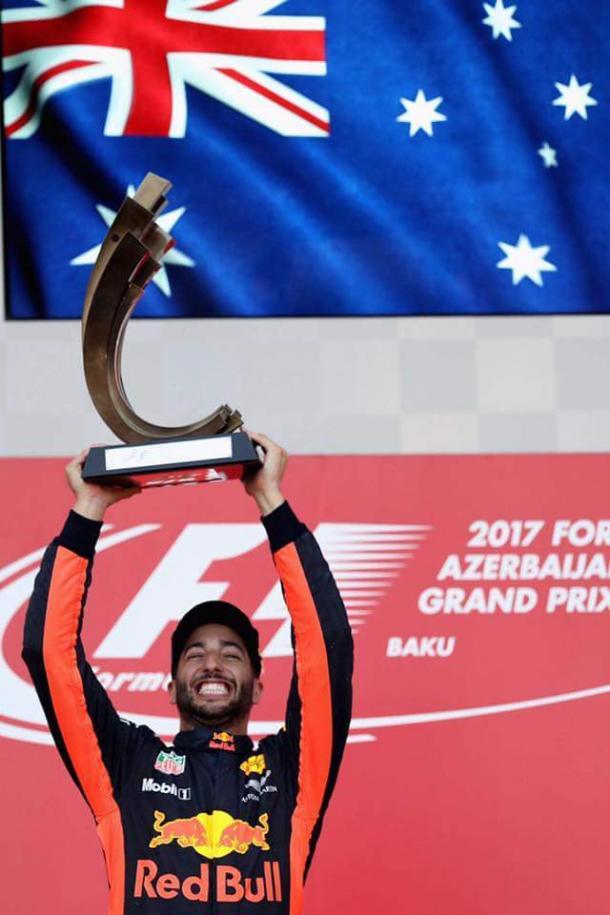 Fonte: Daniel Ricciardo official