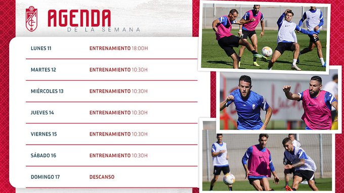 Agenda de la semana del <strong><a  data-cke-saved-href='https://vavel.com/es/futbol/2021/10/07/granada-cf/1088442-el-calendario-que-afrontara-el-granada-cf-tras-el-paron-hasta-noviembre.html' href='https://vavel.com/es/futbol/2021/10/07/granada-cf/1088442-el-calendario-que-afrontara-el-granada-cf-tras-el-paron-hasta-noviembre.html'>Granada CF</a></strong>