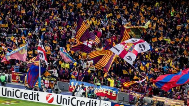 Afición del Barcelona I Fuente: tercerequipo.com