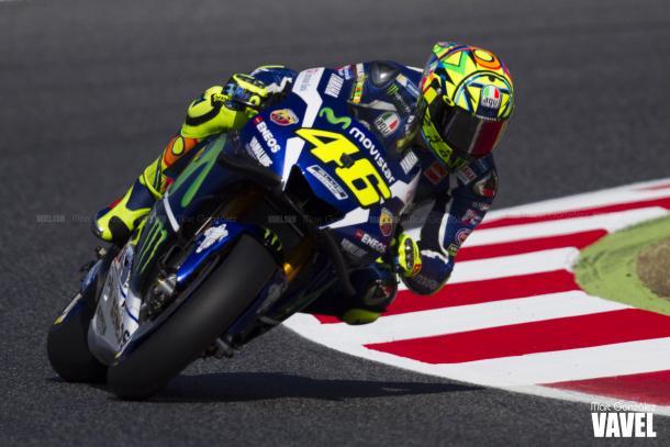 Valentino Rossi en pista. Foto: Marc González-VAVEL