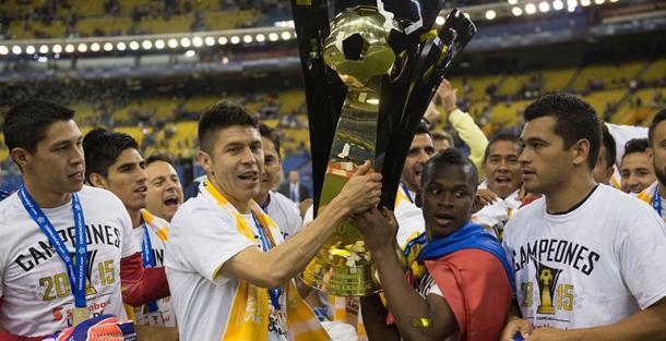 Equipo Campeón de la Concachampions 2015 | Foto: CONCACAF