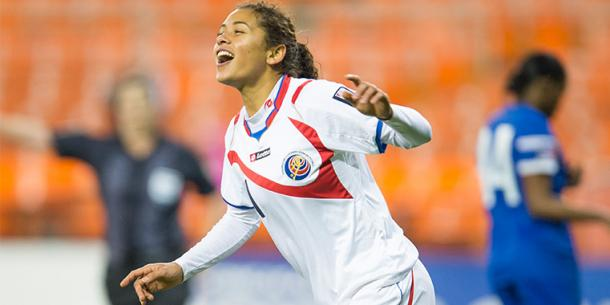 Costa Rica's midfielder Raquel Rodriguez will need to lead the offense to a potential upset victory over the Canadians on Friday at BBVA Compass Stadium. Photo provided by MexSport.