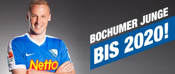 Felix Bastians will be staying with VfL Bochum until 2020, much to his joy. | Image credit: VfL Bochum