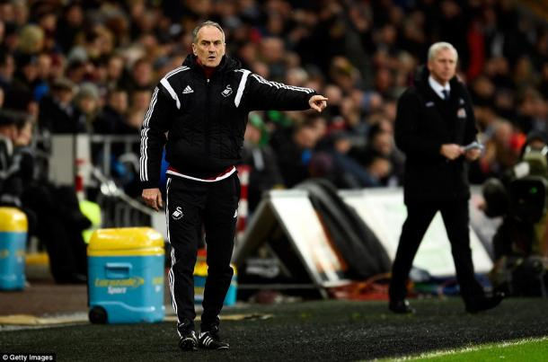 Guidolin gives encouragement to his charges from the sidelines. | Image credit: Getty Images - Daily Mail
