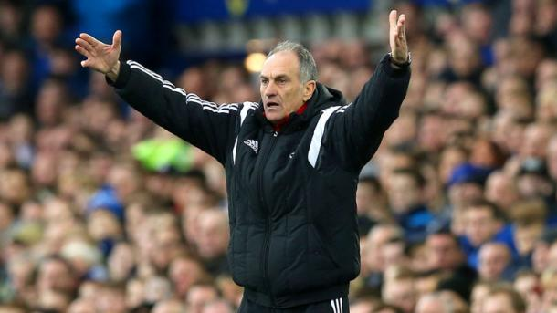Guidolin looks set to guide Swansea to a respectable finish. | Image source: Sky Sports