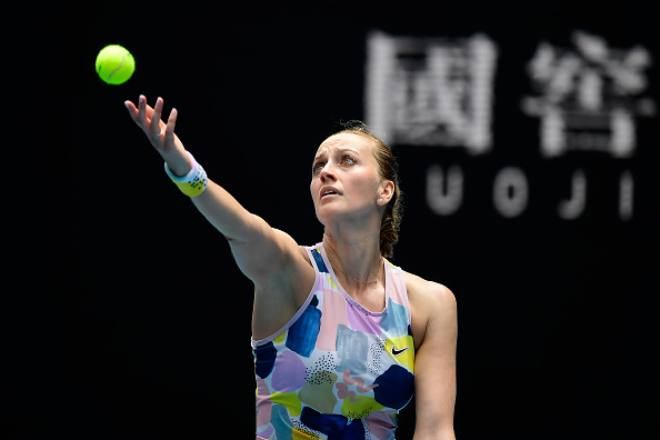 Kvitova will look to serve well and dictate play (Photo)