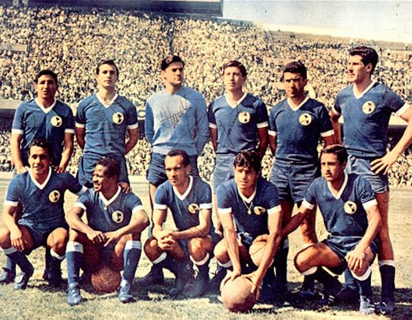 Campeones 1965-1966 | Foto: Club América - Sitio Oficial