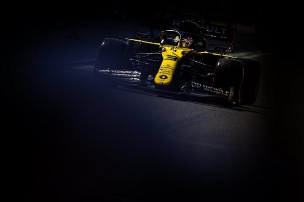 Daniel Ricciardo en los FP2. Fuente: Renault