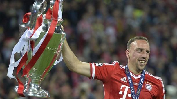 Ribery will hope for a return to times like these, now that he can play again. (Image credit: topdrawersoccer.com)