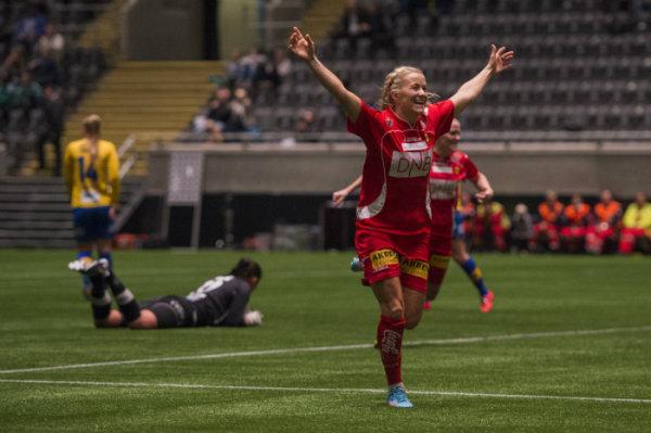 Mykjåland has always been a prominent goal scorer. Source: Fredrik Arfjell / NTB Scanpix