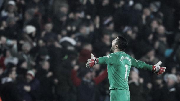 Fabianski fue el héroe del Swansea | Foto: Premier League