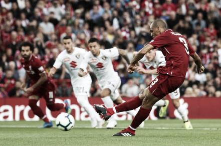 Fabinho vs Torino | Getty Images