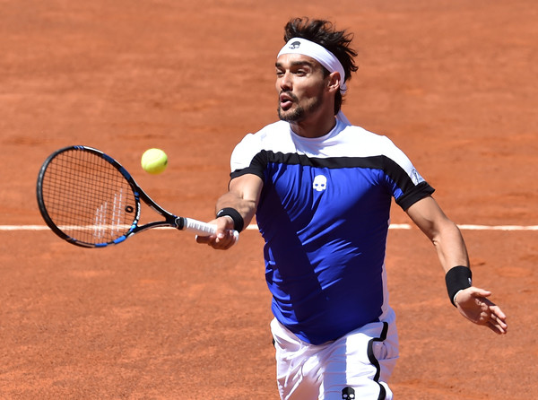 The third round on two occassions has been the furthest Fognini has been in Rome (Photo by Giuseppi Bellini / Getty Images)