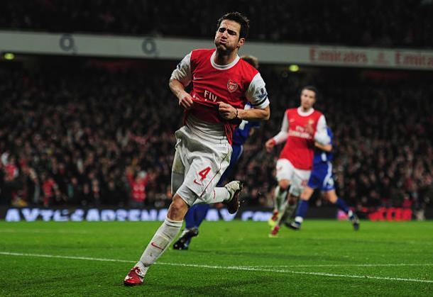 Fàbregas era um dos grandes ídolos do Arsenal no começo da década (Foto: Shaun Botterill/Getty Images)