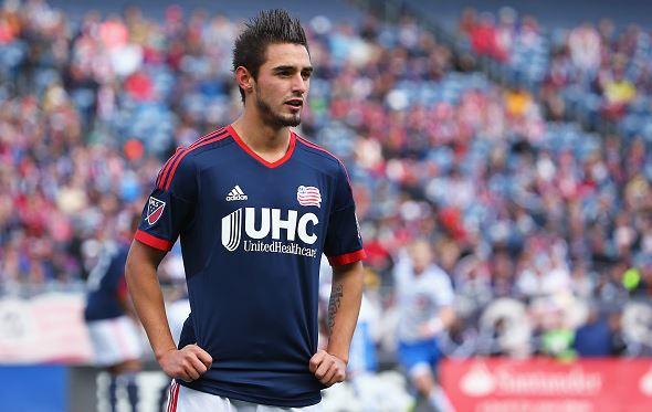 Diego Fagundez needs to step up and be a leader for the New England Revolution | Maddie Meyer - Getty Images