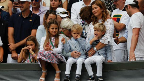 Familia de Federer Foto: Marca