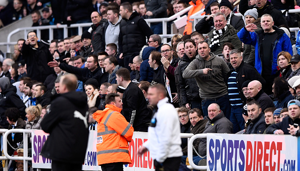 McClaren is bombared with abuse (photo: getty)