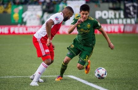 Marco Farfan, one of the few Timbers recognizable to most fans | Source: Diego Diaz - Icon Sportswire via Getty Images