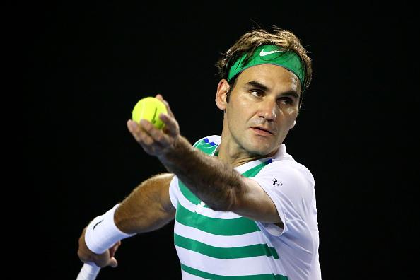 Serve could be key for Federer (Getty/Scott Barbour)
