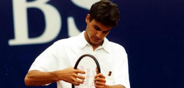Federer de adolescente Foto: Puntodebreak