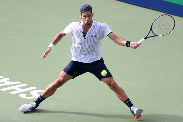 Lopez at the Shanghai Rolex Masters (Photo by Zhong Zhi/Getty Images)