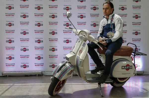 Massa en un acto promocional hoy en Brasil. Fuente: Getty Images