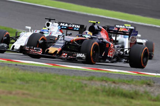 Carlos Sainz no pudo retener a los dos Williams   Fuente: Getty Images