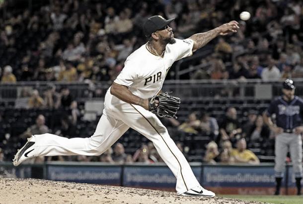 Rivero ha mostrado su calidad como cerrador / Foto: MLB.