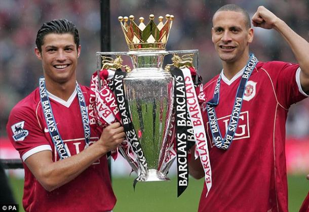 Ferdinand won 17 major trophies in his 12 years at Old Trafford | Photo: Daily Mail