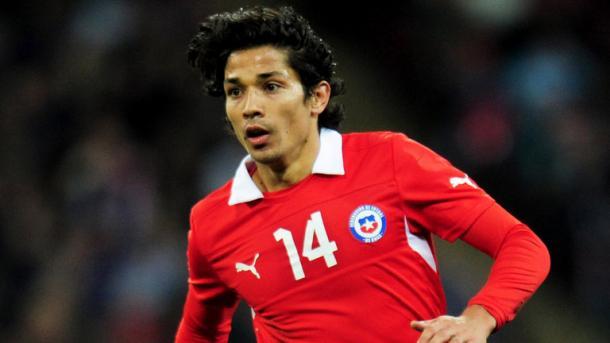Mati con la maglia del Cile. Fonte foto: skysport.com