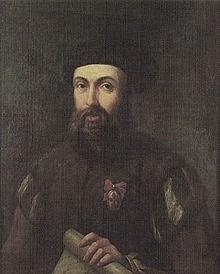 Retrato de Fernando de Magallanes. Fuente: Wikicomons