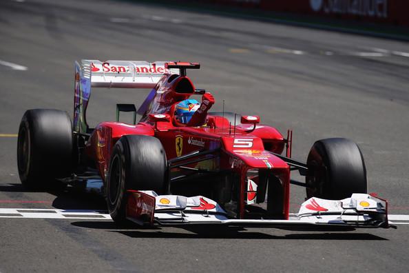 Graining en el Ferrari de Alonso, Valencia 2012 / Fuente:  Mark Thompson/Getty Images Europe