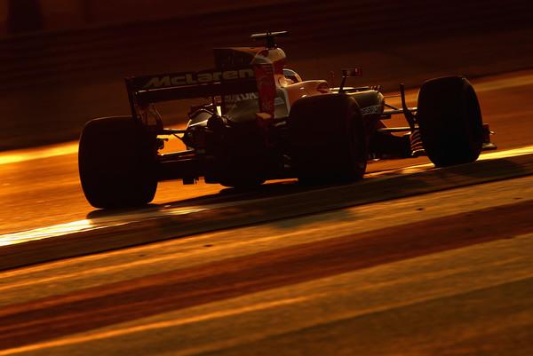 Fernando Alonso durante el GP de Abu Dhabi. Fuente: Getty Images