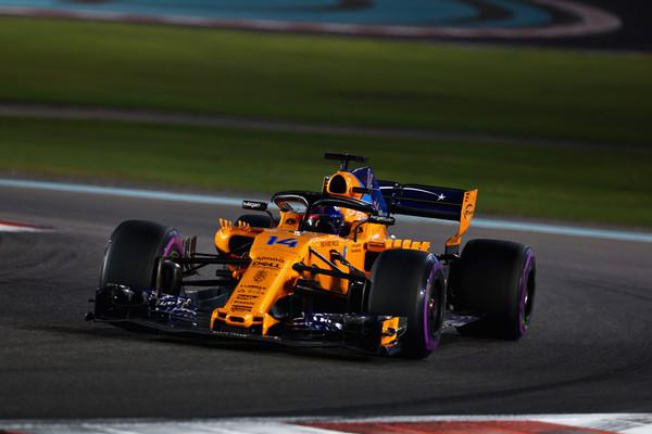 Fernando Alonso, en su despedida de la Fórmula 1 | Fuente: Getty Images