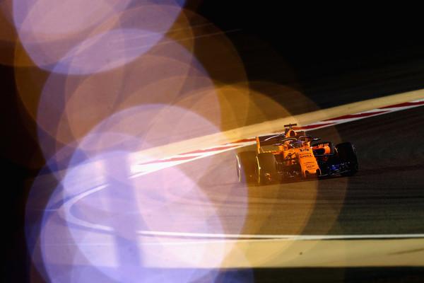 Alonso durante el GP de Baréin. Fuente: Getty Images