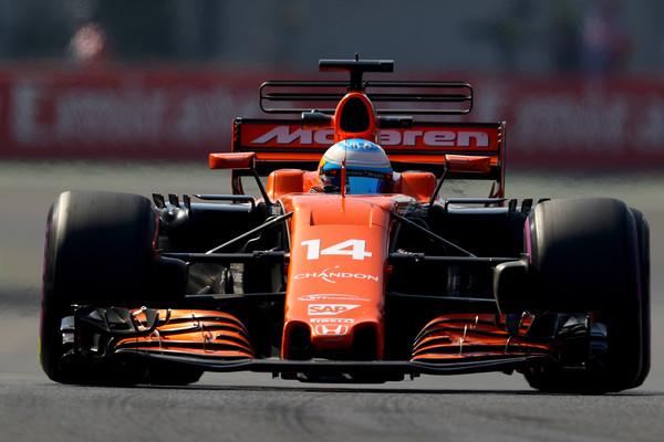 Camber en un F1, ruedas delanteras / Fuente: Clive Rose/Getty Images North America