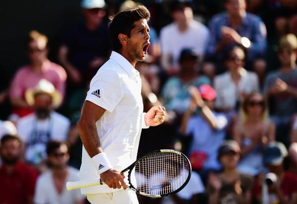 Verdasco at the 2015 Wimbledon Championships. Photo credit : Shaun Botterill / Getty Images.