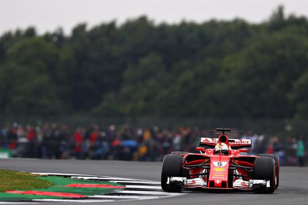 Sebastian Vettel finalizó séptimo, aunque sigue lider del mundial. Foto: Zimbio
