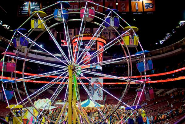Take a ride the six-story high Ferris wheel | Photo: Derek Brad Photography
