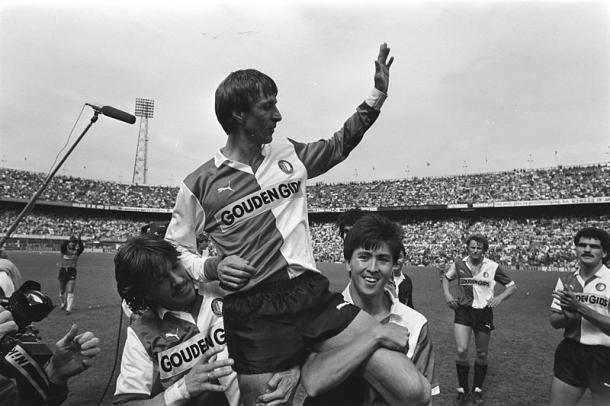 Johan Cruyff jugó en el Ajax y en el Feyenoord | Foto: Wikipedia