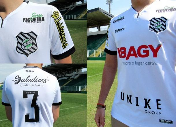 Figueira também estará de roupa nova na Ressacada (Foto: Divulgação/Figueirense FC)