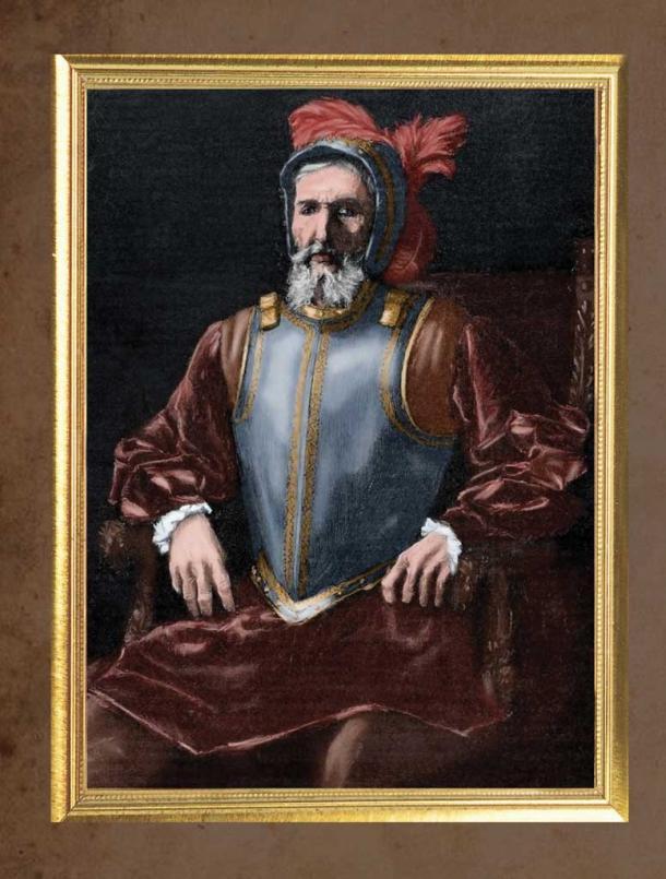 Retrato de Miguel López de Legazpi   Fuente: Museo Naval de Madrid